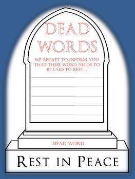 "Descriptive Words Survive ""Dead Words"""