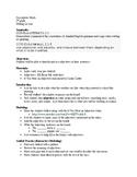 Descriptive Words Writing Lesson (2nd grade)
