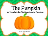 Pumpkin Writing (a FREE writing resource)