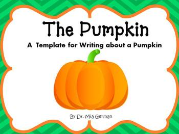 Pumpkin Writing (a FREE writing resource)