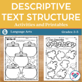 Descriptive Writing Activities and Printables