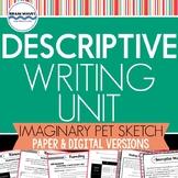 Descriptive Writing Unit:  Most Unusual Pet Contest Essay