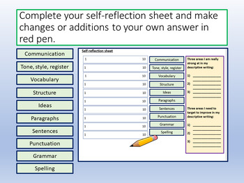 Descriptive Writing AQA Paper 1 Sec B - Analysing Examples