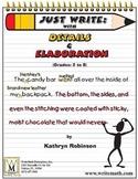 Detailed Writing   Elaboration Activities