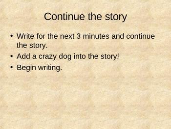 Descriptive Writing Activity