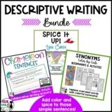 Descriptive Writing Activity Bundle