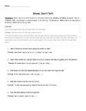 Descriptive Writing Activity with Easy to use Rubric
