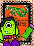 Descriptive Writing: Adding Details Monster Match Style