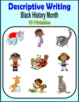 Descriptive Writing (Black History Month)