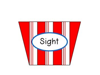 Descriptive Writing Bulletin Board - Popcorn Theme