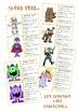 Descriptive Writing Character Cards- Narrative writing using figurative language