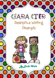 Descriptive Writing Character Cards- Narrative writing usi
