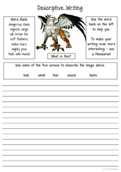 Descriptive Writing (Characters)