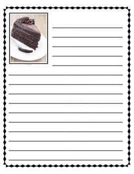 Descriptive Writing - Chocolate Cake