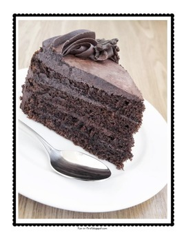Descriptive Writing - Chocolate Cake