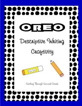 Descriptive Writing Craftivity - Oreo Cookie