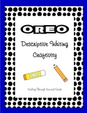 Descriptive Writing Craftivity - Oreo Cookie