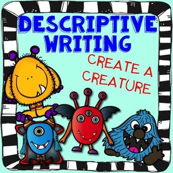 Descriptive Writing Activity- Create a Creature