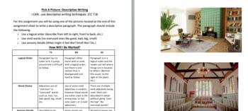 Descriptive Writing: Describe A Room