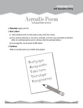 Descriptive Writing: Descriptions (Ten-Minute Activities)