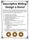 Descriptive Writing: Design a Donut