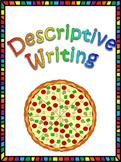 Descriptive Writing: Our Favorite Food Pizza