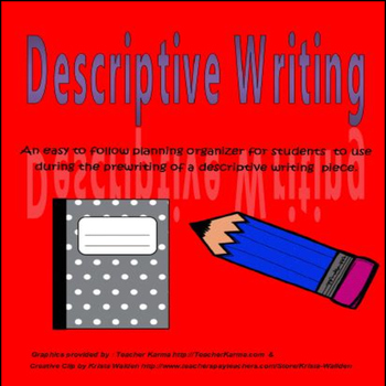 Descriptive Writing - Printable Sheets
