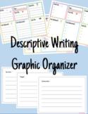 Descriptive Writing Graphic Organizer (Five Senses) - Mini Lesson