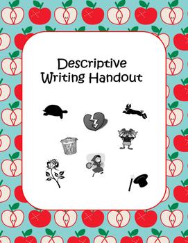 Descriptive Writing Handout