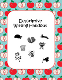 Descriptive Writing Handout