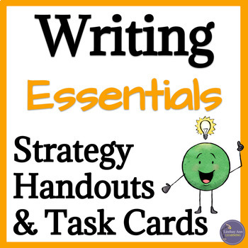 Personal Narrative Writing Handouts, Task Cards for Middle School & High School