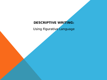 Descriptive Writing Intro. & Practice