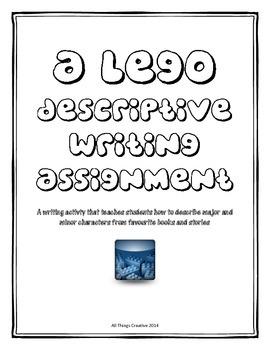 Descriptive Writing LEGO Character Activity