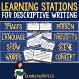 Descriptive Writing Learning Stations (with distance learn