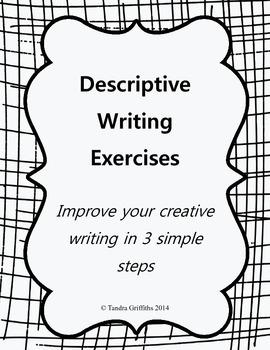 Descriptive Writing: Lesson Plan w/ Worksheets