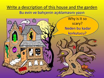 Descriptive Writing Lesson (Turkish Translations)