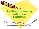 Descriptive Writing Lesson- Using adjectives