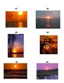 Descriptive Writing Lesson using Sunsets