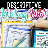 Descriptive Writing Mini-Unit: Writing with Strong Verbs,