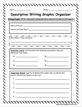 descriptive writing packet by imagination station susan moon tpt. Black Bedroom Furniture Sets. Home Design Ideas