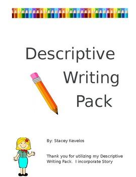 Descriptive Writing Packet