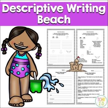 Beach Descriptive Writing Paragraph Summer