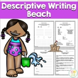 Beach Descriptive Writing Paragraph