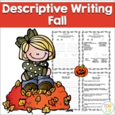 Fall Descriptive Writing Paragraph  Autumn