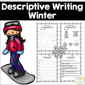 Winter Descriptive Writing Paragraph January February