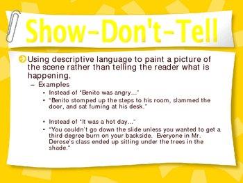 Descriptive Writing Power Point Presentation