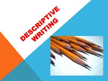 Descriptive Writing Powerpoint new price