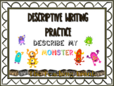 Descriptive Writing Practice: 3 types of words