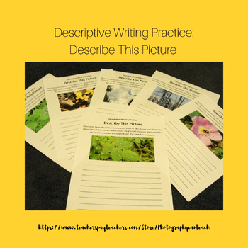 Descriptive Writing Practice: Describe This Picture