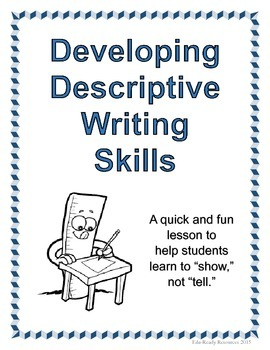 Descriptive Writing Practice Lesson